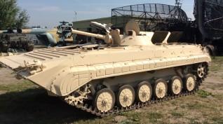 BMP-1 tankvezetés Budaörsön
