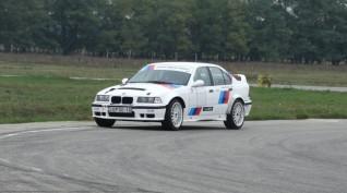 BMW E36 rally vezetés DRX Ring 4 kör+ajándék videóval