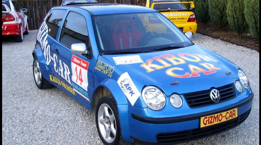 VW Polo Rallyautó Vezetés 10 kör