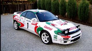 Toyota Celica Rallyautó Vezetés 10 kör