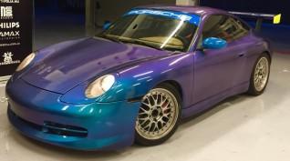Porsche 911 versenyautó vezetés KakucsRing 6 kör