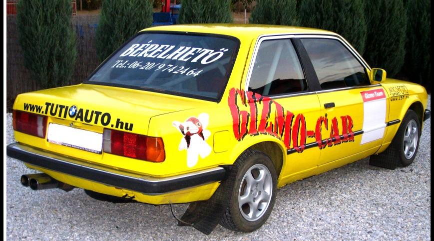 BMW E30 320i Utasautóztatás egy Rallypályán 10 kör
