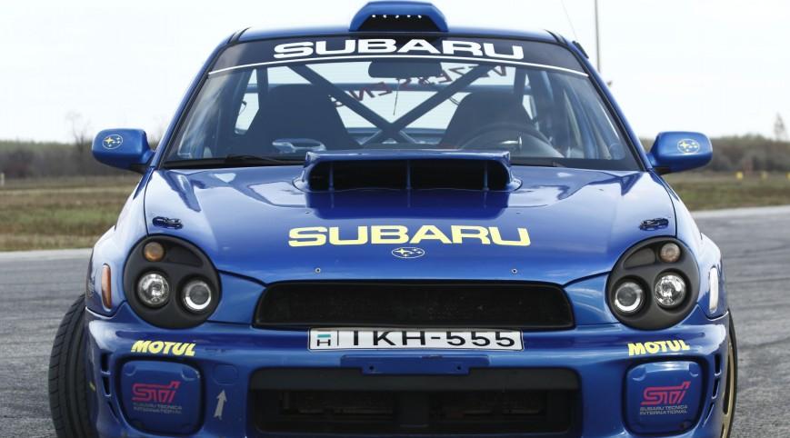 Subaru Impreza WRX Rally autóvezetés KakucsRing 3+3 kör ajándék