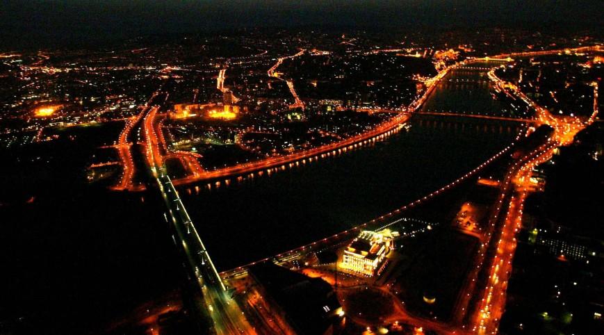 Éjszakai Romantikus Sétarepülés Budapest Felett 2 fő