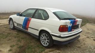 BMW E36 325i Rallyautó Vezetés 10 kör