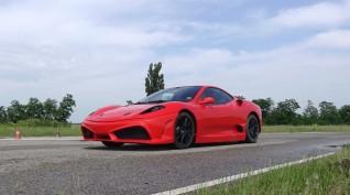 Ferrari F430 Replika autóvezetés KakucsRing 12 kör