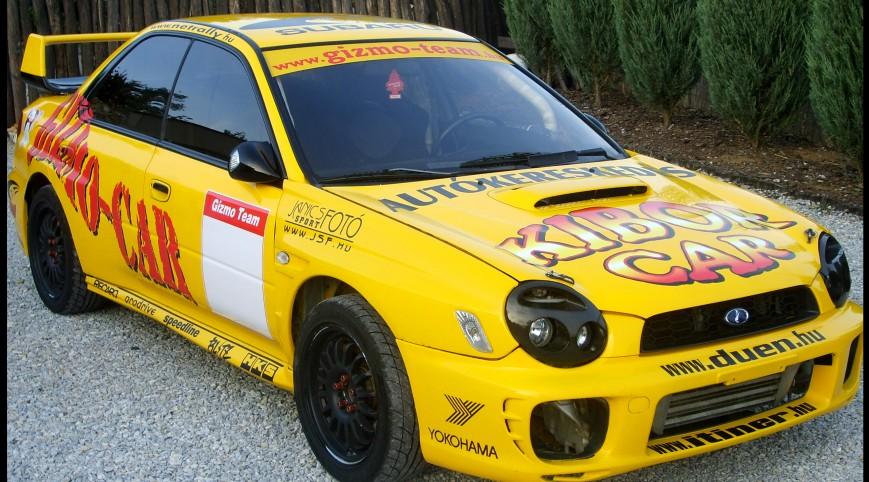 Subaru Impreza Rallyautó Vezetés KicsákRing 15 kör