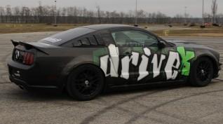 Ford Mustang GT 450 LE autóvezetés Euroring 4 kör+Ajándék Videó