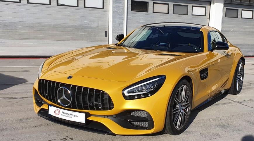 Mercedes-AMG GT C Coupé élményvezetés KakucsRing 5 kör