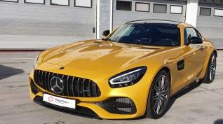 Mercedes-AMG GT C Coupé autóvezetés KakucsRing 5 kör