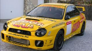 Subaru Impreza Rallyautó Vezetés KicsákRing 10 kör