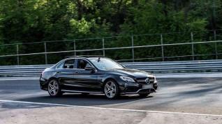 Mercedes C63 AMG autóvezetés Hungaroring 2 kör