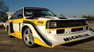 Audi S1 Rally car Proto autóvezetés és Utazás KakucsRing 4+2 kör
