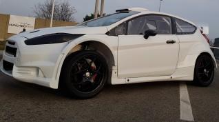 Ford Fiesta 2.0 450 LE autóvezetés Hungaroring 4 kör