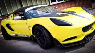Lotus Exige autóvezetés DRX Ring 2 kör