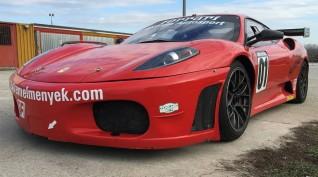 Ferrari F430 GT3 520 LE autóvezetés Euroring 7 kör