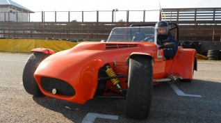 Lotus Super Seven autóvezetés Hungaroring 2 kör