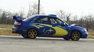Subaru Impreza WRX Rally autóvezetés KakucsRing 12 kör