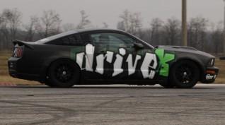 Ford Mustang GT 450 LE vezetés és utazás Euroring 3+1 kör