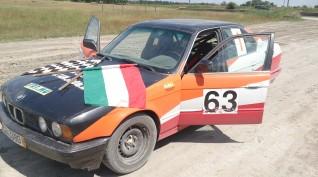 BMW E34 Rally Versenyautó Vezetés 5 kör