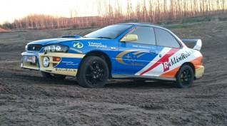 Subaru Impreza WRX STI versenyautó vezetés autócross pályán 5 kör