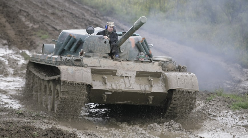 Harckocsi Vezetés (30 Perc Gsp-55 + 15 Perc T-55 A)