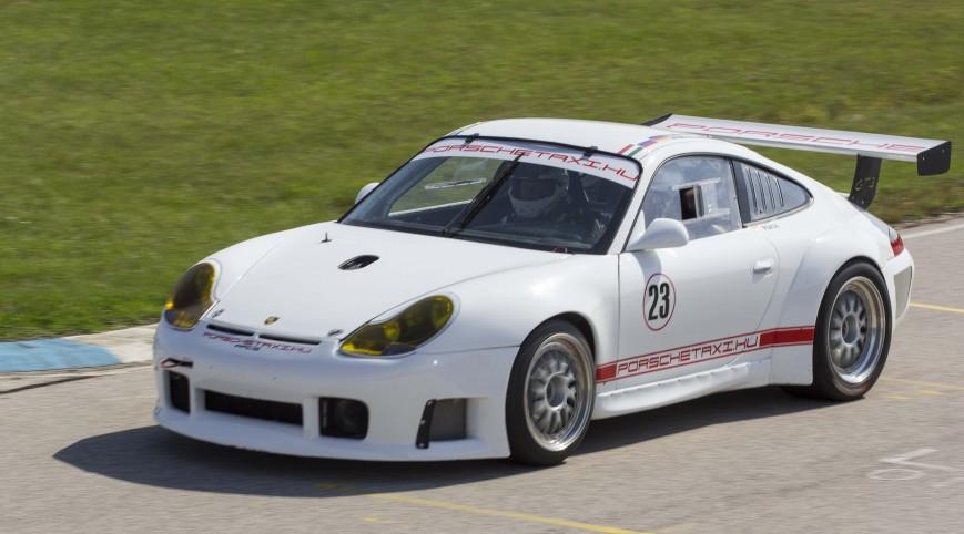 Porsche 911 GT3 RS versenyautó vezetés Euroring 4 kör