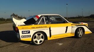 Audi S1 Rally car Proto vezetés vagy utasautóztatás KakucsRing 8 kör