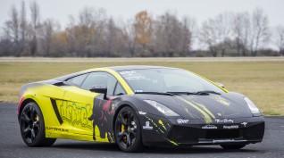 Lamborghini Gallardo autóvezetés DRX Ring 6 kör+videó
