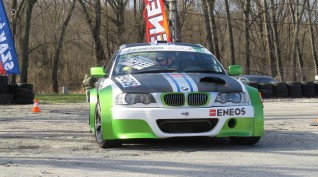 BMW E46 AC Schnitzer Versenyautó drift vezetés 30 perc