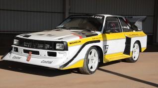Audi S1 Rally car Proto vezetés Vörös Katlan Aréna 5 kör