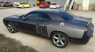Dodge Challenger 450 LE vezetés Vin Diesel csomag Hungaroring 2 kör