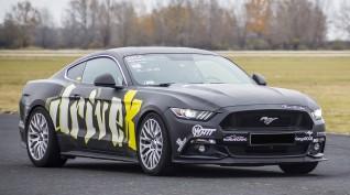 Ford Mustang GT 500 LE autóvezetés DRX Ring 3 kör