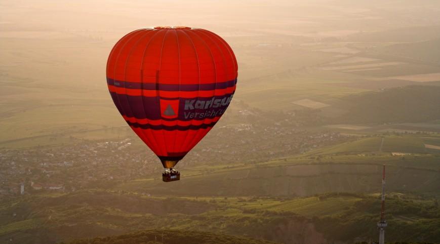 Exkluzív Hőlégballonos Sétarepülés Édes Kettesben Őrbottyán térségében