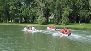 Vízi kalandok Győrben 4 óra 10-16 fő