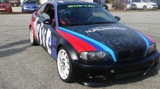 BMW M3 360 LE versenyautó vezetés DRX Ring 4 kör+Ajándék Videó