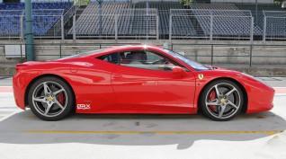 Ferrari 458 Italia 570 LE élményvezetés DRX Ring 2 kör+videó