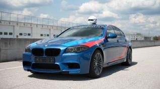 BMW M5 RaceTaxi, a száguldás élménye - Euroring 2 kör - 1 fő