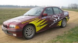 BMW E36 325i Rally Versenyautó Vezetés Rallykrossz Pályán 5 km