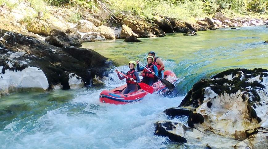 Kétnapos rafting túra Ausztriában a Salza folyón