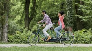Tandem kerékpártúra Szentendre környékén 2 óra
