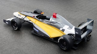 Forma Autó Vezetés Renault Versenyautóval Párosan Euroring 2X6 kör