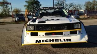 Audi S1 Rally car Proto autóvezetés Hungaroring 6 kör