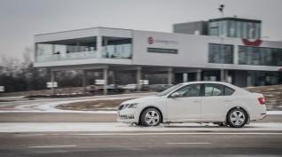 Téli felkészítő vezetéstechnikai tréning
