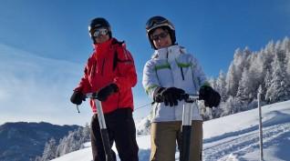 Snowsegway túra Balatonfüreden - 2 óra
