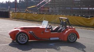 Lotus Super Seven vezetés Hungaroring 6 kör+videó