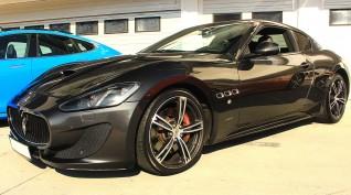 Maserati GranTurismo 520 LE vezetés KakucsRing 12 kör