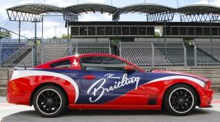 Mustang 302 Boss 480 LE autóvezetés Euroring 2 kör