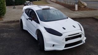 Ford Fiesta 2.0 450 LE autóvezetés KakucsRing 3 kör