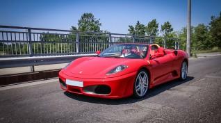 Ferrari F430 Spider 496 LE vezetés Standard kör 7-8 km